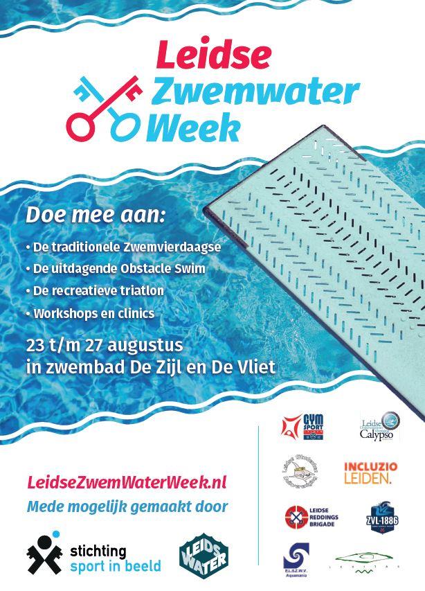 Nieuw in Leiden ZwemWaterWeek
