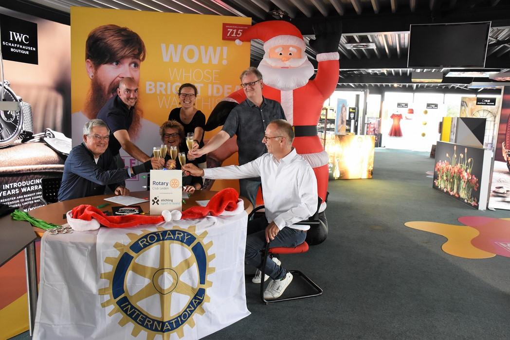 Organisatie van Leiden Rotary Santa Run in handen van Sport in Beeld
